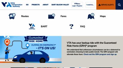 vta.org - homepage  vta