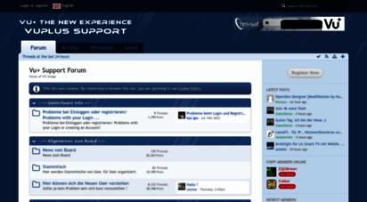 vuplus-support.org - vu+ support forum