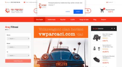 vwparcaci.com - volkswagen yedek parça dünyası - vw parçaci