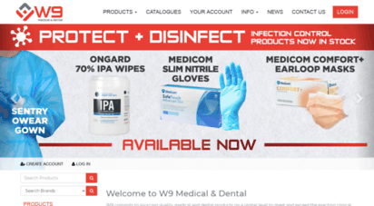 Welcome to W9 com au - Dental consumables specialists I