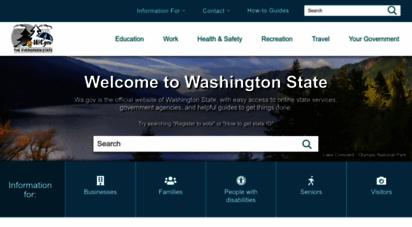 wa.gov - access washington home