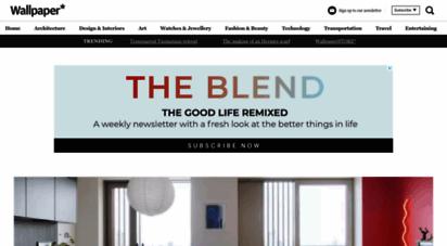 wallpaper.com - wallpaper: design, interiors, architecture, fashion, art