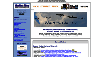 warbirdalley.com - warbird alley: privately-owned, vintage, ex-military aircraft