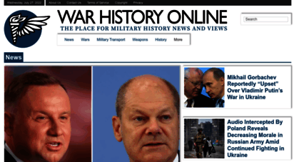 warhistoryonline.com - war history online - the place for military history news and views