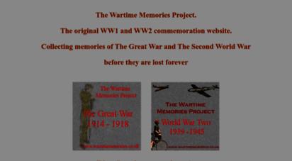 wartimememoriesproject.com