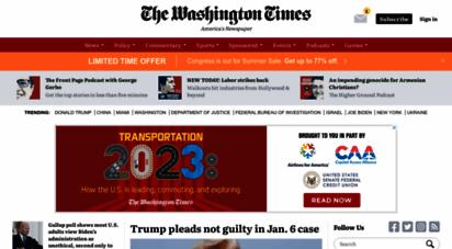 washingtontimes.com - washington times - politics, breaking news, us and world news