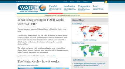waterandclimatechange.eu - water & climate change