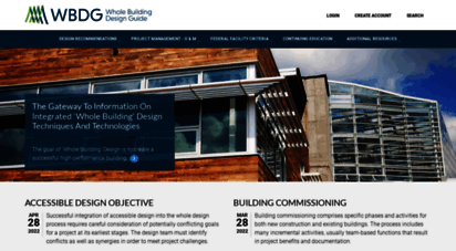 wbdg.org - wbdg - the whole building design guide