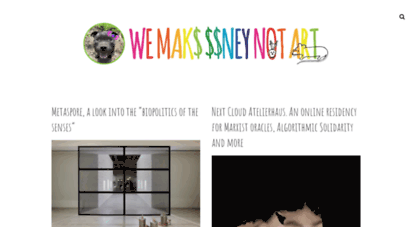 we-make-money-not-art.com - we make money not art