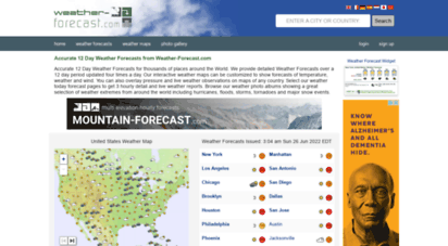 weather-forecast.com - 10 day weather forecast worldwide