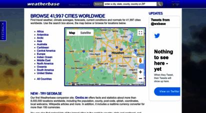 weatherbase.com - travel weather averages weatherbase