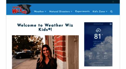 weatherwizkids.com - weather wiz kids  because weather is awesome