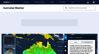 weatherzone.com.au - weather - australia 7 day forecasts and weather radar - weatherzone