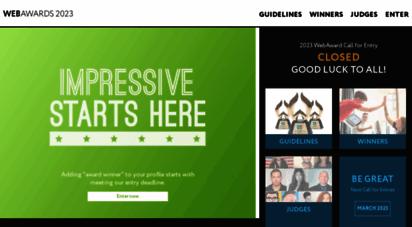 webaward.org -