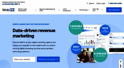 webfx.com - seo company  digital marketing agency that drives results