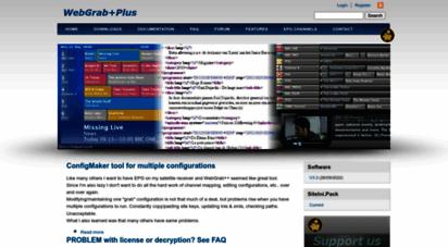 Welcome to Webgrabplus com - WebGrab+Plus