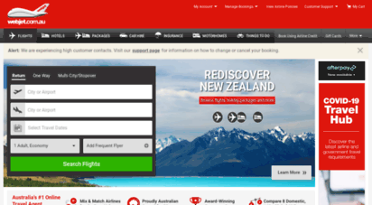 webjet.com.au - book flights, cheap hotels, car hire, insurance & holiday packages - webjet