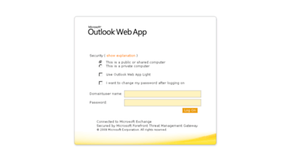 webmail.pentair.com -