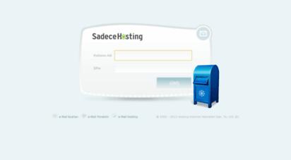 webmail.sadecehosting.com -
