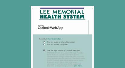webmail2.leememorial.org -