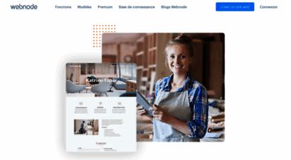 webnode.fr - créez votre site internet gratuit & facile-webnode