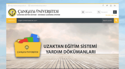 webonline.cankaya.edu.tr -