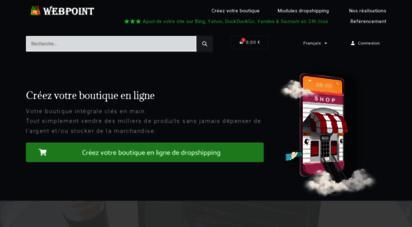 webpoint.fr - le seul module prestashop + 40 fournisseurs dropshipping