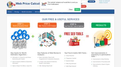 webpricecalculator.com