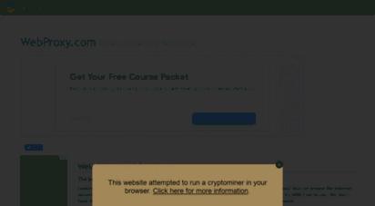 Welcome to Webproxy com - WebProxy com