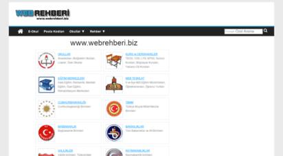webrehberi.biz - www.webrehberi.biz - internetteki rehberiniz.