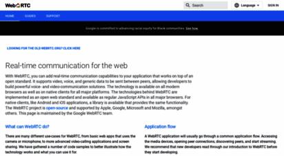 webrtc.org - webrtc