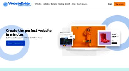 websitebuilder.com - create your own free website in minutes  websitebuilder