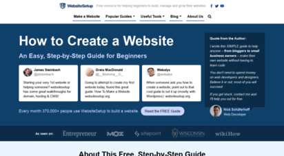 websitesetup.org - how to create a website: step-by-step guide for beginners 2020