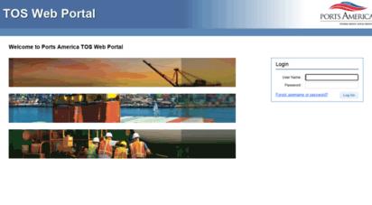 webtams.portsamerica.com -