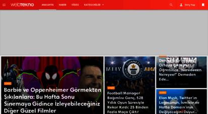 webtekno.com - webtekno - güncel teknoloji haberleri ve video incelemeleri