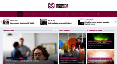 webworldindex.com - web world index of the best online casinos