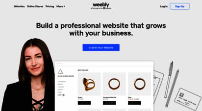 weebly.com - free website builder: build a free website or online store  weebly