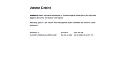 weeksuntil.com - how many weeks until?