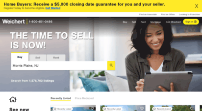 weichert.com - search houses for sale  buy or sell a home with weichert realtors