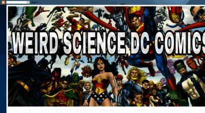 weirdsciencedccomics.com - weird science dc comics