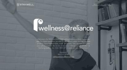 wellnessatreliance.staywell.com -