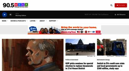 wesa.fm - 90.5 wesa  pittsburgh´s npr news station