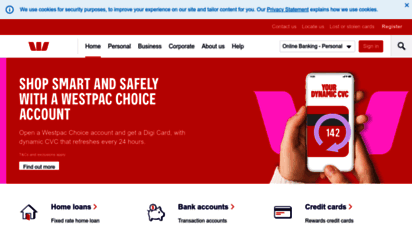 westpac.com.au - westpac - personal, business and corporate banking