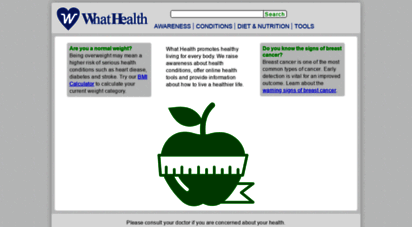 whathealth.com - independent health information  what health