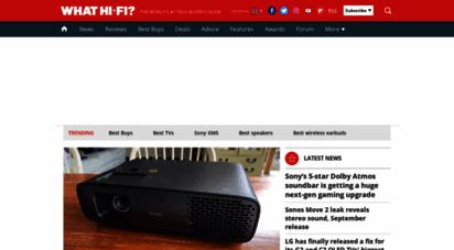 whathifi.com - what hi-fi?  tech news and reviews