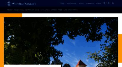 whitman.edu - whitman college