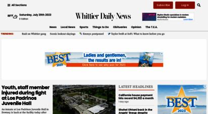 whittierdailynews.com - home - whittier daily news