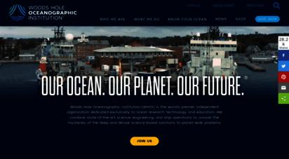 whoi.edu - woods hole oceanographic institution