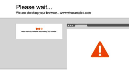 whosampled.com -