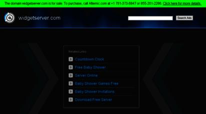 widgetserver.com - widgetserver.com